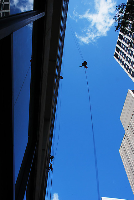Window washer of flair