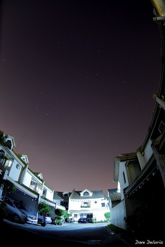 Stars over my house
