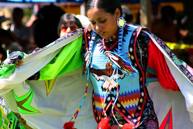 Native American Fancy Shawl Dresses http://www.flickr.com/photos/schooksonruss/1409185967/