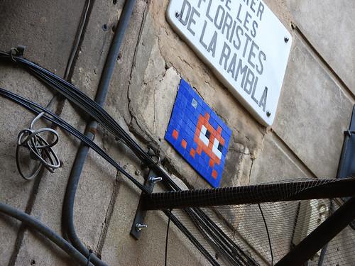 Barcelona Invader...
