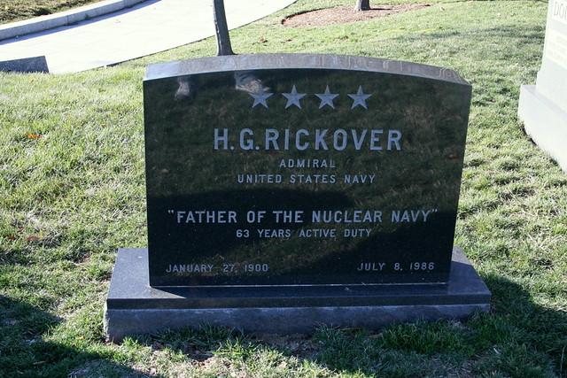 Header of Rickover