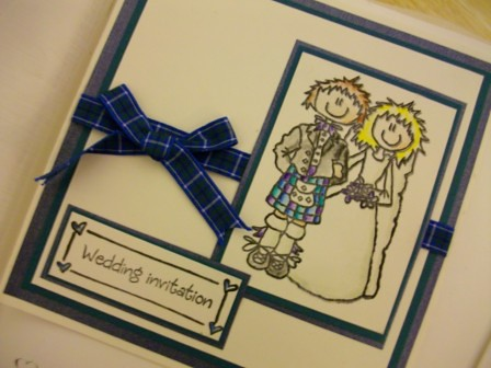 Demeekas blog Scottish Wedding Invitations Scrolls Scotland