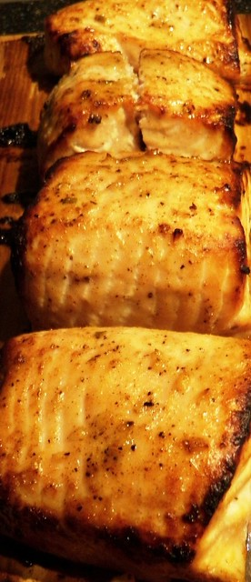 Recipes - Alaska Cedar Plank Charcoal Grilled Wild Alaska White King ...