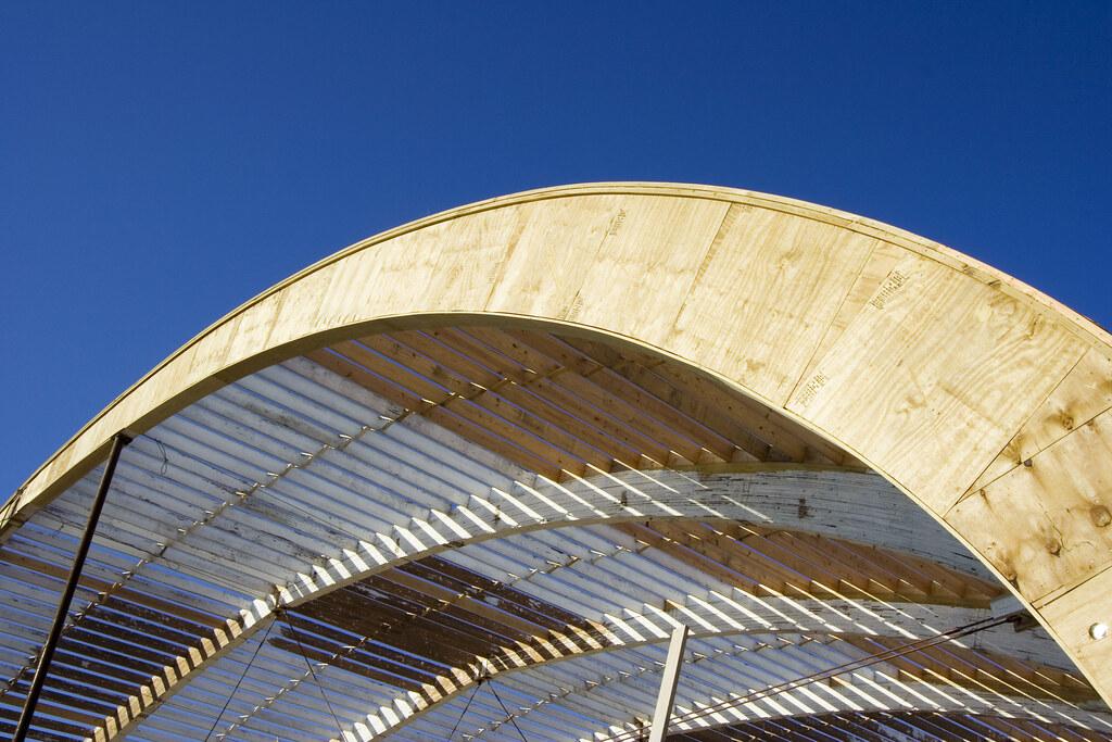 Hangar roof