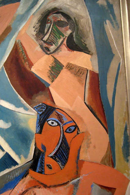 an introduction to picassos development and les demoiselles davignon Start studying ha 231 quiz iii study guide les demoiselles d'avignon these strategies would be significant in picasso's subsequent development of.