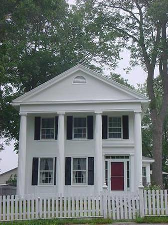Weekender greek revival under 200k for Home designs under 200k