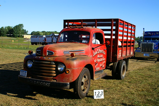 133 1949 F4 Red Ford | Flickr - Photo Sharing!