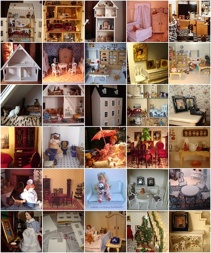 My dollshouses mosaique by Anna Amnell