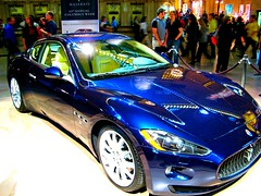 automobile(1.0), automotive exterior(1.0), maserati(1.0), wheel(1.0), vehicle(1.0), performance car(1.0), automotive design(1.0), auto show(1.0), maserati granturismo(1.0), sedan(1.0), land vehicle(1.0), luxury vehicle(1.0), coupã©(1.0), supercar(1.0), sports car(1.0),