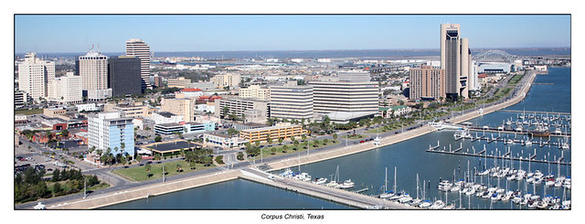 Corpus Christi Skyline Panoramic Flickr Photo Sharing