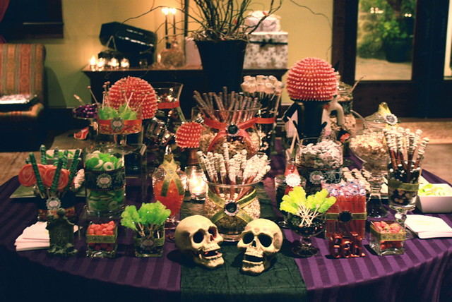 Halloween Night Wedding Sweets Table Flickr Photo Sharing