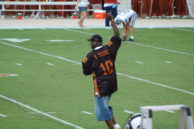 Vince Young is headed back to Texas