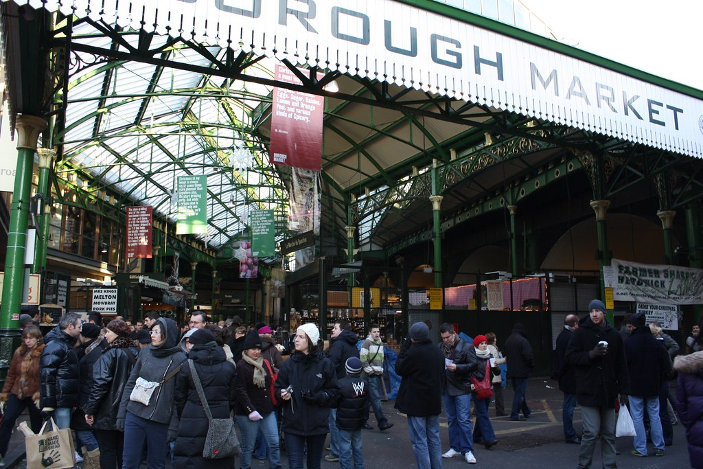 Borough Market - flickr: Kyle Taylor