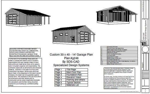 Rv garage plans sds plans 28 images g553 24 x 25 x 10 for 25 x 40 garage plans