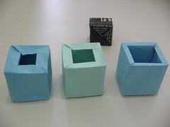 art, rectangle, paper, box, blue,