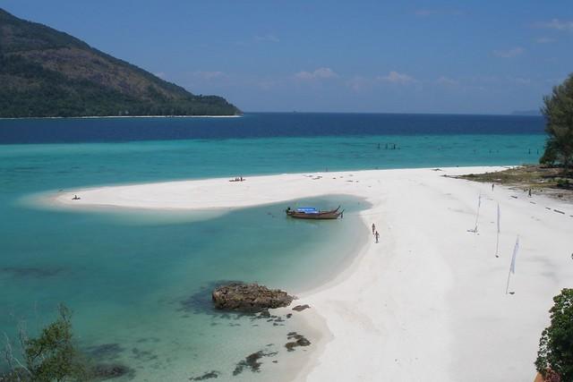 Strand på Koh Lipe