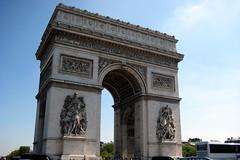 Paris: Arc de Triomphe de l'Étoile (west)