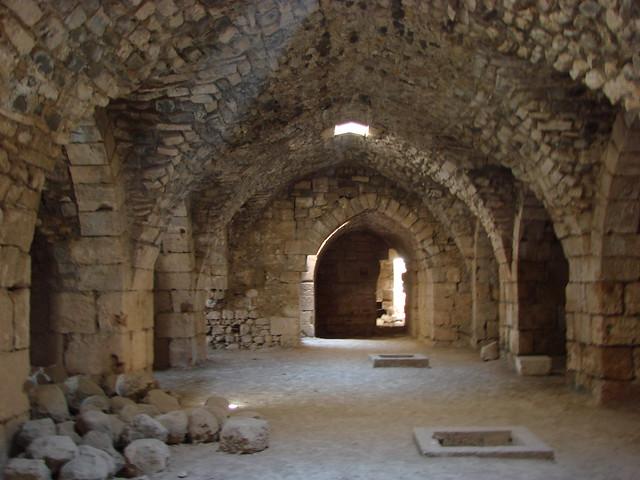 Crac de los Caballeros ( Krak des Chevaliers ), Siria