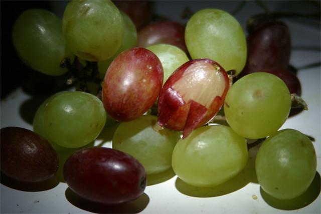 Grape peel