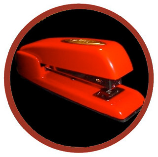 Stapler Badge