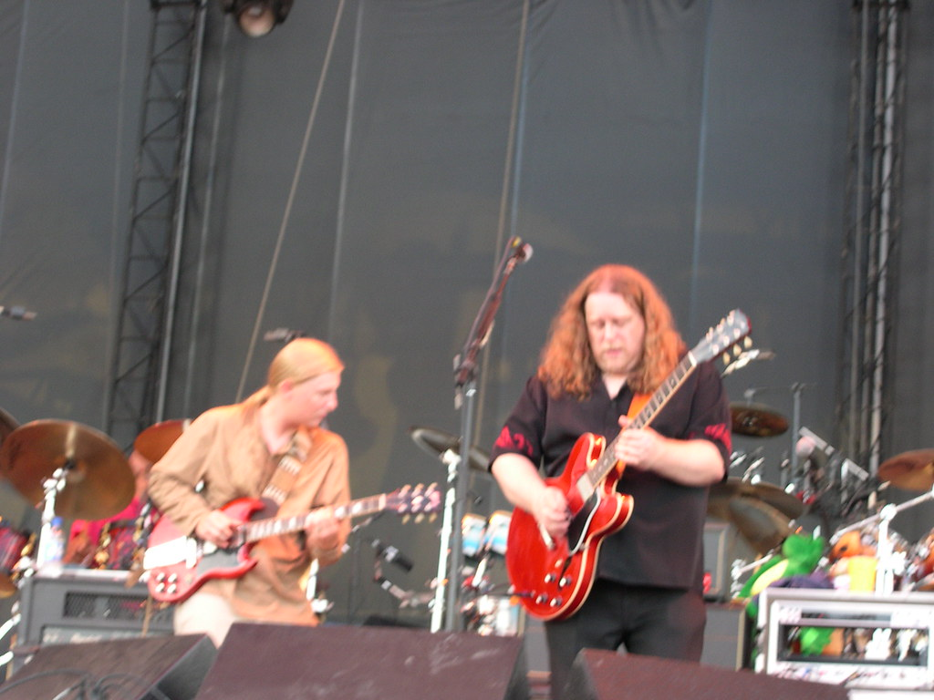 Derek Trucks and Warren Haynes of The Allman Brothers Band