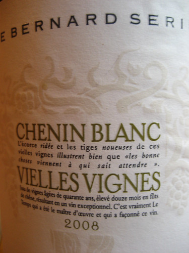 Chenin Blanc bottle