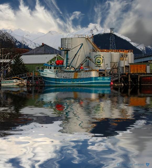 Sitka, Alaska Harbor