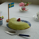 Cake and the Swedish flag