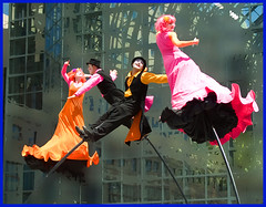 NYC Stilt Dance . . .