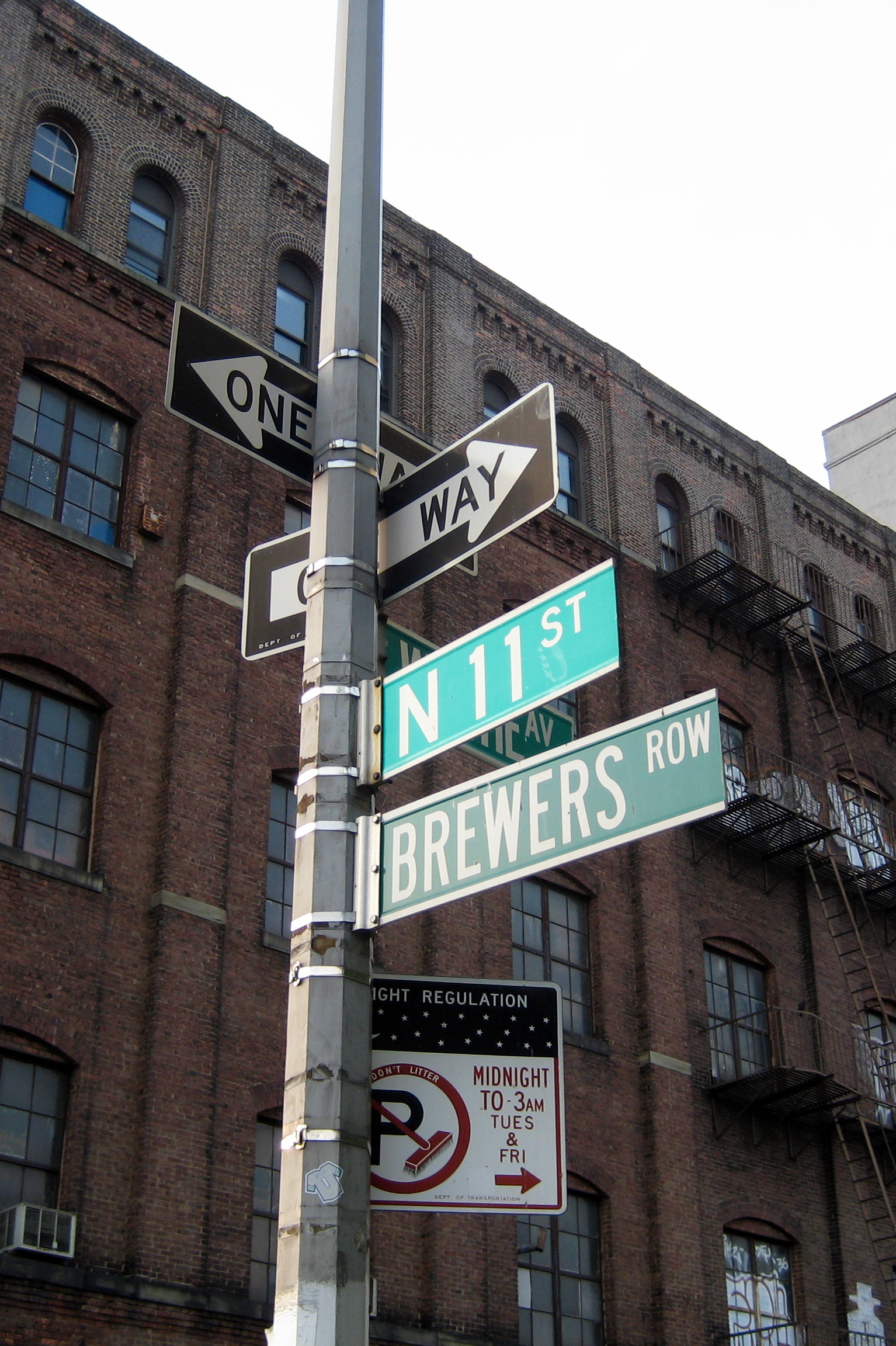 NYC - Brooklyn - Williamsburg: Brewers Row   Flickr ...