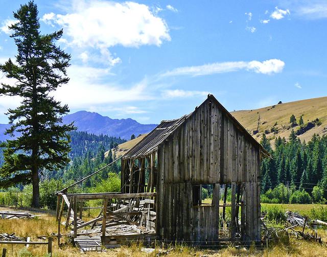 Old shack near Imnaha Oregon