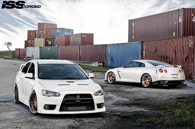 ISS Forged Mitsubishi EVO & Nissan GTR R35