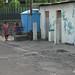Bermain di fasilitas umum. : Children playing near public WC. Photo by Lalitya
