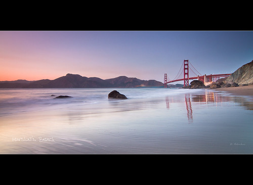 Golden Gate from Marshall's Beach - San Francisco - CA *Explore*