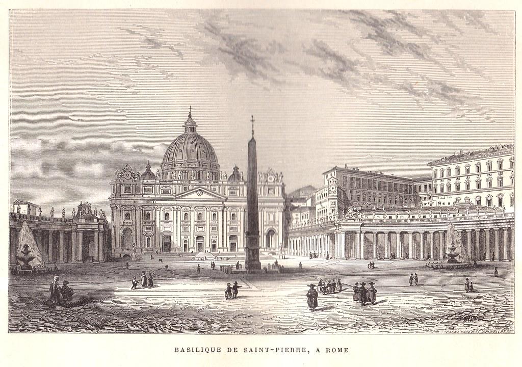 Rome - Basilique de Saint-Pierre