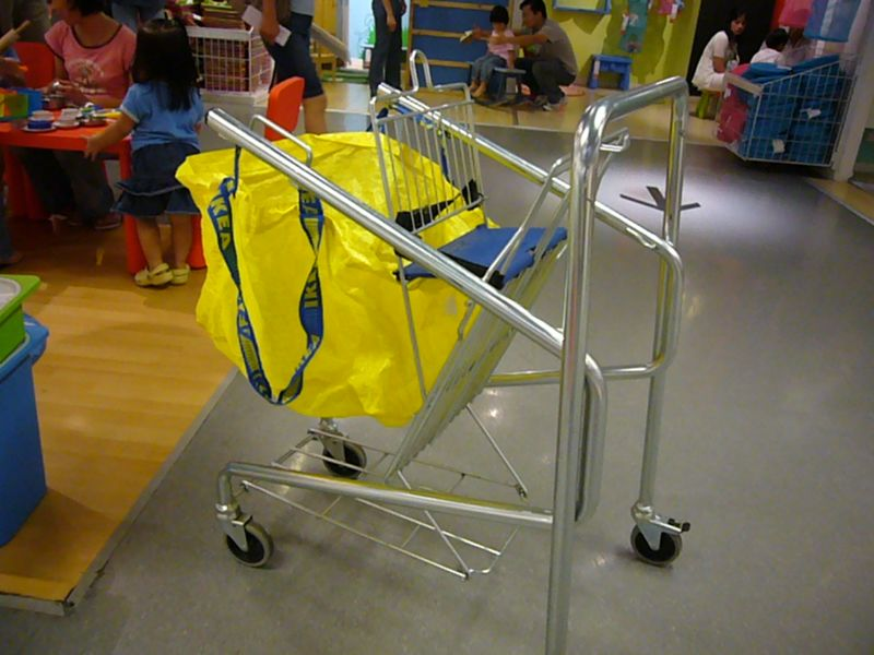 Cooler insights make room for ikea for Ikea luggage cart