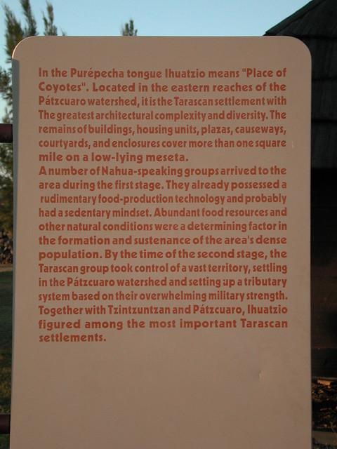 Ihuatzio Sign
