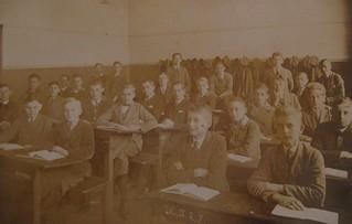 Albert's class in Kant Realgynmasium Karlshorst - Dec 1927