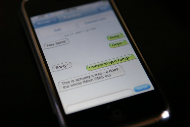Iphone Sms Group Mebaging