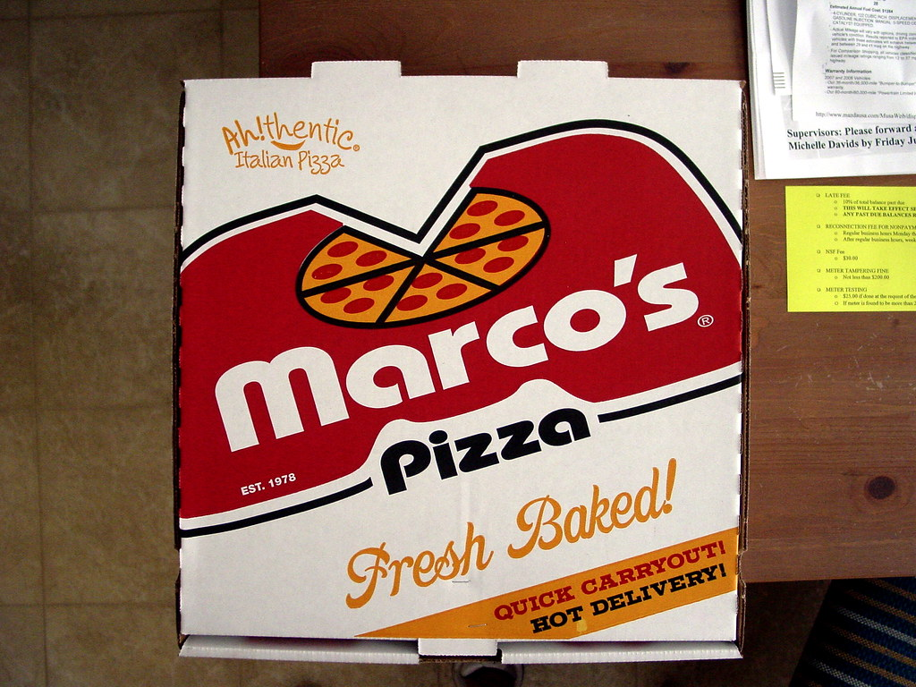 Marco's pizza coupon