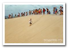duna de la puesta de sol / sunset dune, Jericoacoara