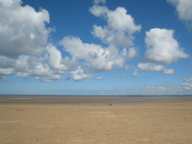 Blue sky horizon   Flickr - Photo Sharing!
