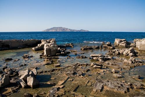 blue sea italy landscape italia mare blu sicily isle isles sicilia isola favignana egadi levanzo isole