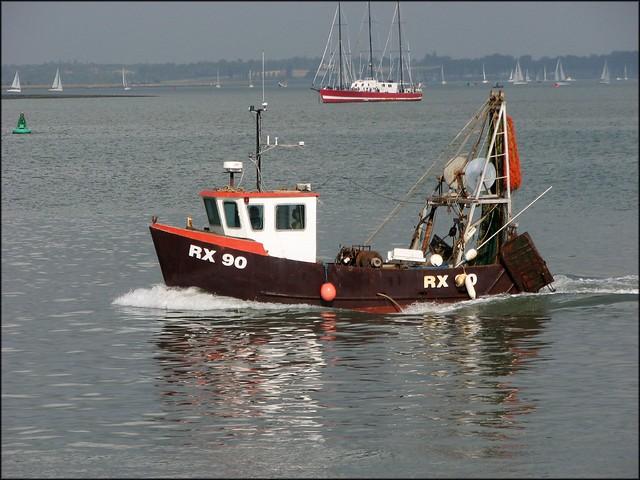 Fishing boat at Harwich