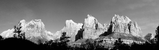 Court of the Patriarchs Panoramic, Zion NP