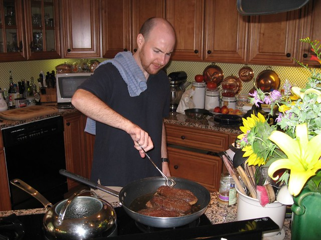 Cooking duck for the first time (2007)