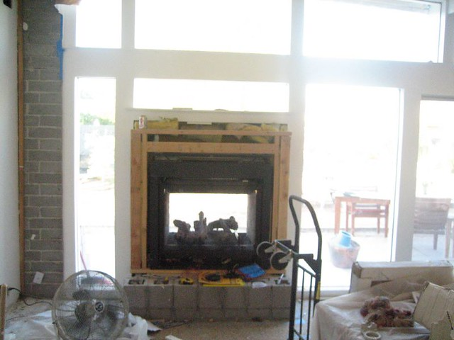 Indoor Outdoor Fireplace Installed Flickr Photo Sharing