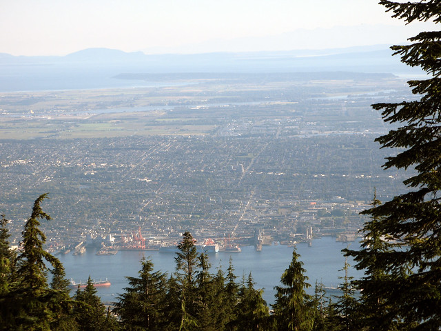 Lower Mainland from Grouse Mountain
