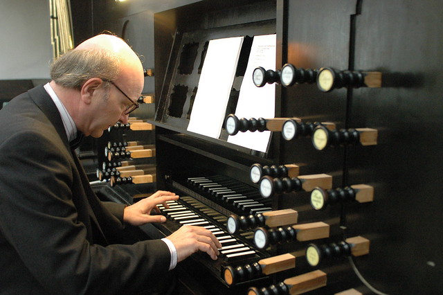 Jacques van Oortmerssen /varhany/ na Pražském jaru /22.5.2005/