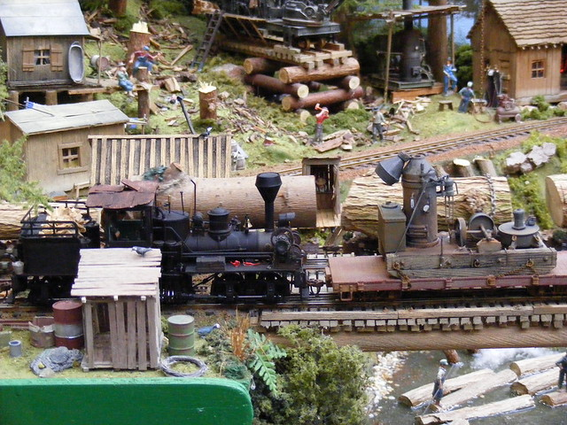 Twin Falls Logging Amp Mining Railroad On30 Layout By
